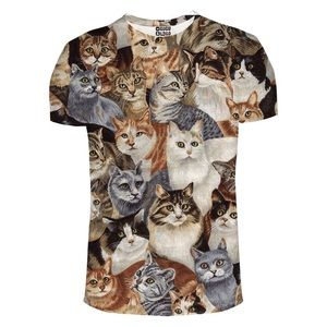 Mr. Gugu & Miss Go Cats Unisex Short Sleeve TShirt